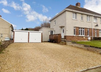 Thumbnail 3 bed semi-detached house for sale in Croft Coch Road, Kenfig Hill, Bridgend .