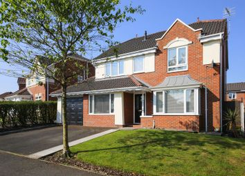 Thumbnail 4 bed detached house for sale in Langham Road, Standish, Wigan