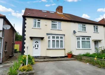 Thumbnail 4 bed semi-detached house for sale in Halsbury Road East, Northolt, Middlesex