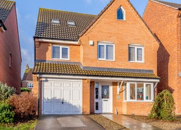 Thumbnail 5 bed detached house for sale in Woodland Drive, Leeds