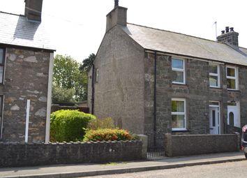 Thumbnail 2 bed end terrace house for sale in Llanaelhaearn, Caernarfon