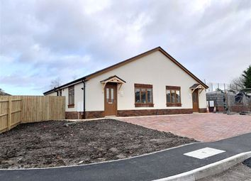 Thumbnail 2 bedroom semi-detached bungalow for sale in Land To Rear Of 22, Llwynhendy Road, Llanelli