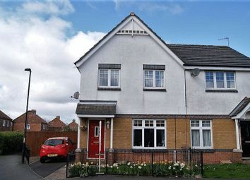Thumbnail 3 bedroom semi-detached house for sale in Greenhills, Killingworth, Newcastle Upon Tyne