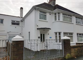 Thumbnail 3 bed semi-detached house for sale in Aldenham Road, Newton, Porthcawl
