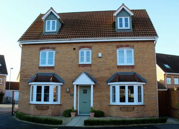 Thumbnail 5 bed detached house for sale in Kingfisher Way, Scunthorpe
