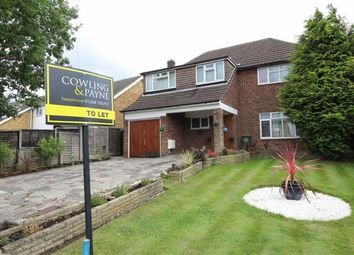 Thumbnail 4 bed detached house to rent in Southend Road, Wickford, Essex