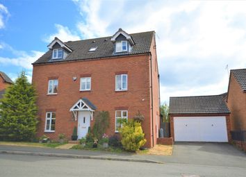 Thumbnail 4 bed detached house for sale in South Meadow View, St Crispins, Northampton
