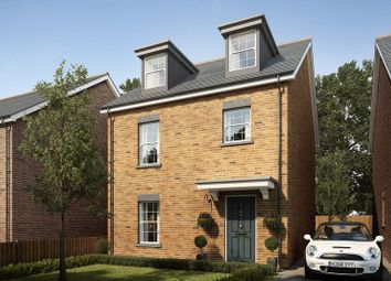 Thumbnail 4 bed detached house for sale in Plot 10, Mansion Gardens, Penllergaer, Swansea