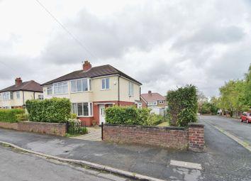 Thumbnail 3 bed semi-detached house for sale in Victoria Park Avenue, Lea, Preston