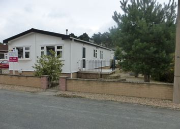 Thumbnail 3 bed mobile/park home for sale in Kerries Walk, Parklands Mobile Homes, Scunthorpe