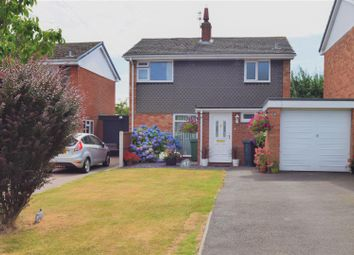 Thumbnail 3 bed link-detached house for sale in The Oval, Bicton, Shrewsbury