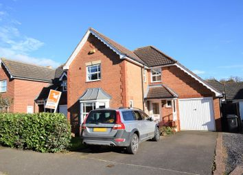 Thumbnail 4 bed detached house for sale in Schofield Road, Oakham