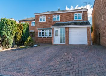 Thumbnail 4 bed detached house for sale in Heythrop Close, Leicester