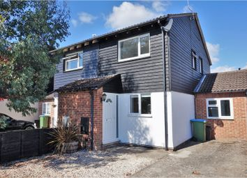 Thumbnail 3 bed semi-detached house for sale in Ensign Way, Littlehampton