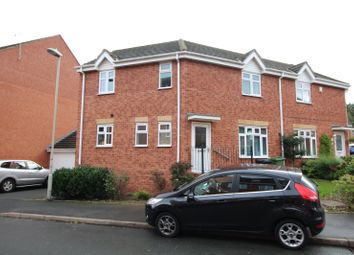 Thumbnail 3 bed semi-detached house for sale in Century Way, Halesowen, West Midlands