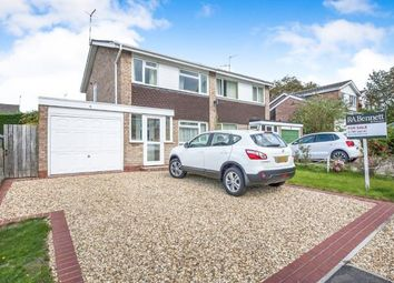 Thumbnail 3 bed semi-detached house for sale in Verney Drive, Stratford Upon Avon, Warwickshire, Warwick