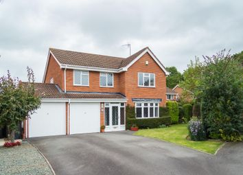 Thumbnail 4 bed detached house to rent in Chelmarsh Close, Redditch, Worcs