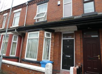 Thumbnail 5 bed terraced house to rent in Ruskin Avenue, Manchester