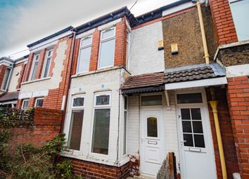 Thumbnail 2 bed end terrace house to rent in Cornwall Gardens, Raglan Street, Hull