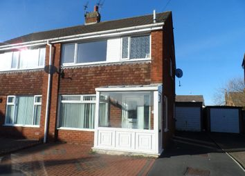 Thumbnail 3 bed semi-detached house for sale in Oldbury Place, Cleveleys