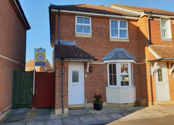 Thumbnail 3 bed semi-detached house for sale in Vickers, Hawkinge, Folkestone