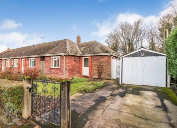 Thumbnail 1 bedroom semi-detached bungalow to rent in Newman Road, Rackheath, Norwich