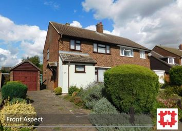 Thumbnail 3 bed semi-detached house for sale in Home Close, Stotfold, Herts
