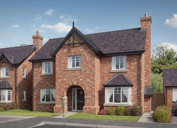 Thumbnail 4 bed detached house for sale in Off Hills Lane Drive, Belvidere, Shrewsbury