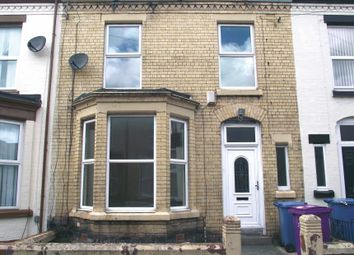 Thumbnail 3 bedroom terraced house for sale in Claremont Road, Wavertree, Liverpool