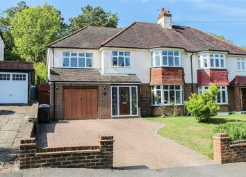 Thumbnail 5 bed semi-detached house for sale in Byron Avenue, Coulsdon