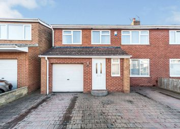Thumbnail 4 bed semi-detached house for sale in Bassleton Lane, Thornaby, Stockton-On-Tees