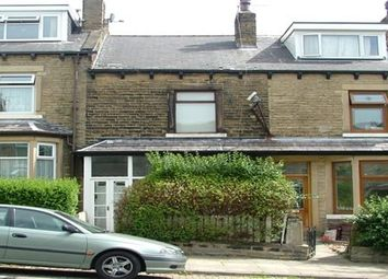 Thumbnail 3 bed terraced house to rent in Upper Woodlands Road, Bradford