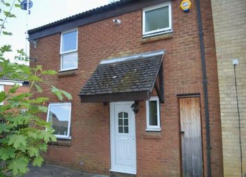Thumbnail 3 bed end terrace house for sale in Blueberry Rise, Ecton Brook, Northampton