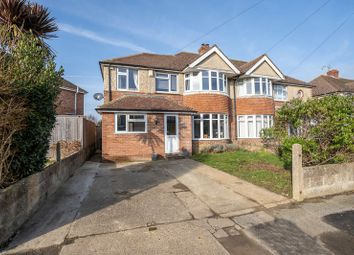 Thumbnail 4 bed semi-detached house for sale in Stockbridge Gardens, Chichester