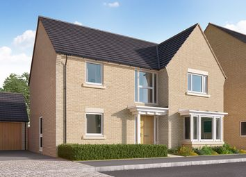 """Thumbnail 4 bed detached house for sale in """"The Cottingham"""" at Heron Road, Northstowe, Cambridge"""