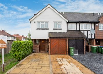 Thumbnail 3 bed end terrace house for sale in Cottage Field Close, Sidcup