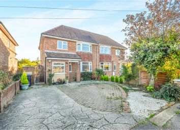 Thumbnail 3 bed semi-detached house for sale in Ridgway Road, Brogborough