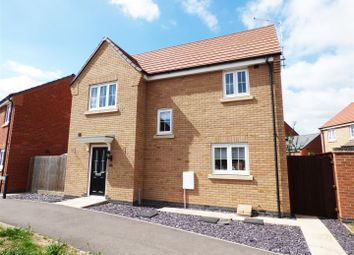 Thumbnail 3 bed detached house for sale in Oban Drive, Orton Northgate, Peterborough