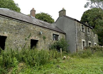 Thumbnail 3 bed farmhouse for sale in Banc Saeson Fron Hill, Llandewi Velfrey, Whitland, Carmarthenshire.