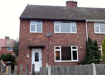 Thumbnail 3 bed semi-detached house for sale in Manor Road, Dinnington, Sheffield