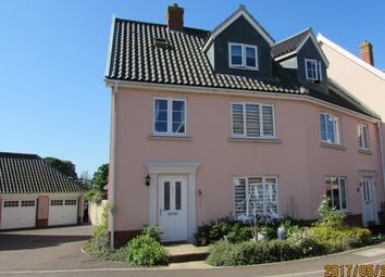 Thumbnail 4 bed end terrace house for sale in Crown Meadow, Norwich, Norfolk