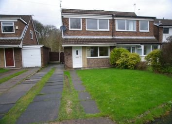 Thumbnail 3 bedroom property to rent in Wilmcote Close, Lostock, Bolton