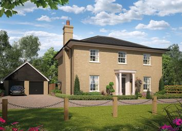 Thumbnail 4 bedroom detached house for sale in Bury Road, Kentford