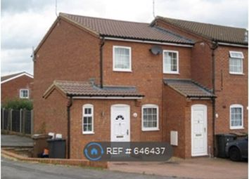 Thumbnail 2 bed semi-detached house to rent in Chelsworth Close, Luton