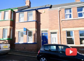 Thumbnail 4 bed terraced house to rent in Saxon Road, Heavitree, Exeter