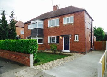 Thumbnail 3 bed semi-detached house for sale in Cornwall Drive, York