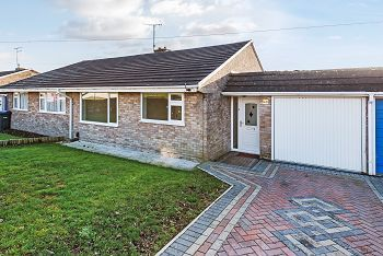 Thumbnail 2 bed semi-detached bungalow for sale in Daniell Crest, Warminster