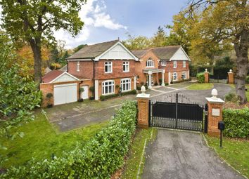 Thumbnail 5 bed detached house to rent in Wentworth Estate, Virginia Water, Surrey