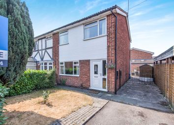 Thumbnail 3 bed semi-detached house for sale in Wanlip Road, Syston, Leicester