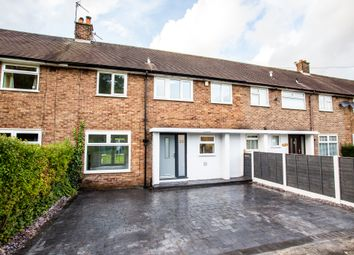 Thumbnail 3 bed terraced house for sale in Carrfield Avenue, Timperley, Altrincham